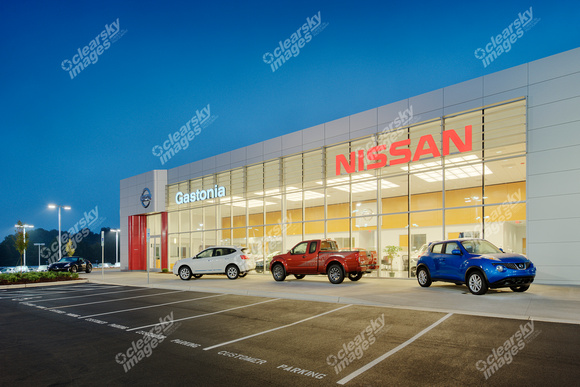 Clear Sky Images Commercial Photography | Gastonia Nissan | gastonia